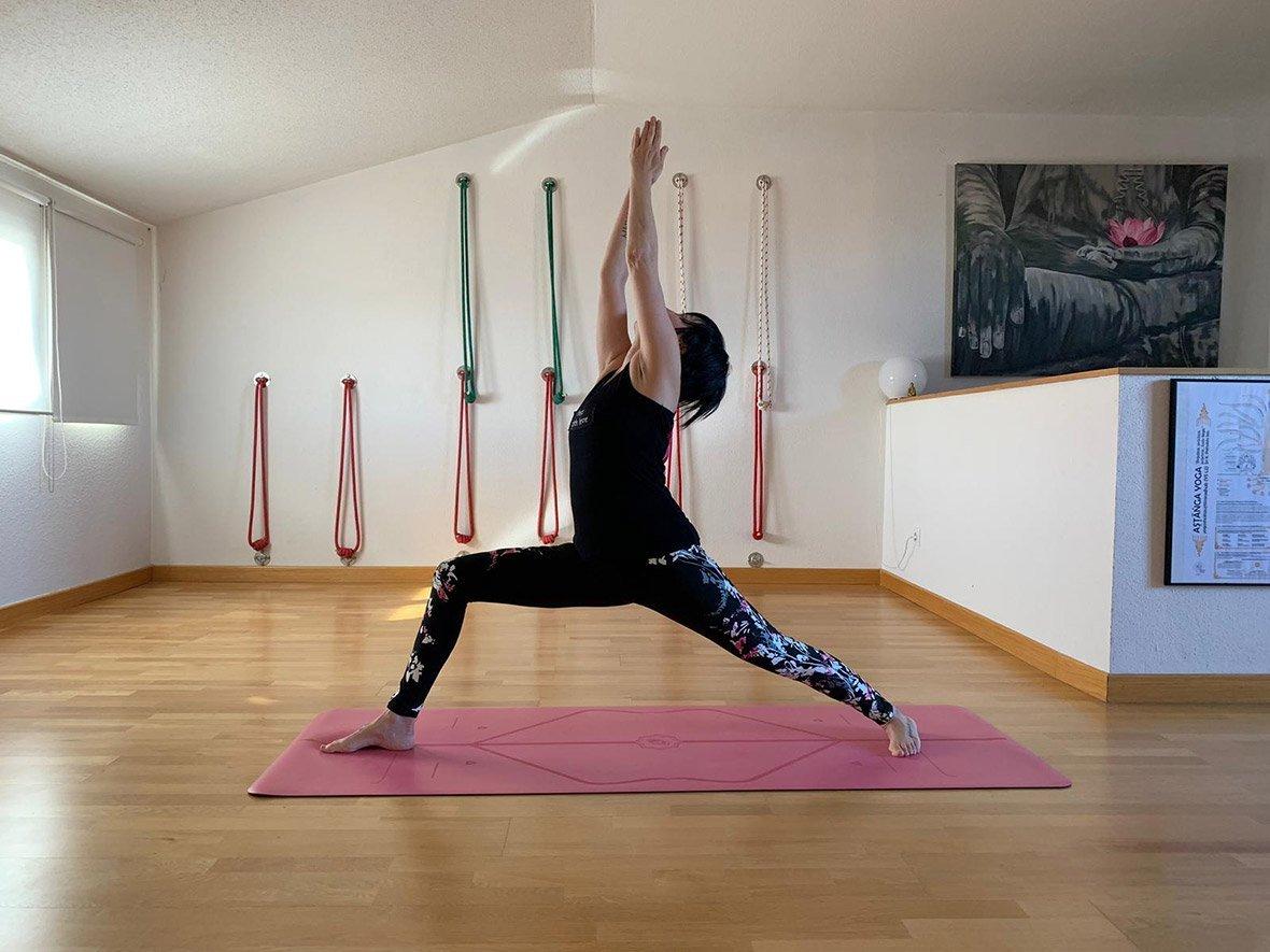 yoga Asana Virabhadrasana I