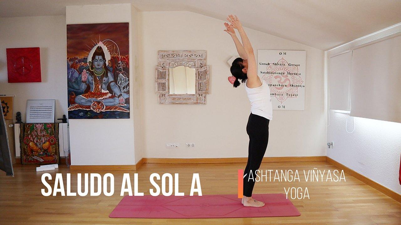 saludo al sol A Ashtanga Yoga Home