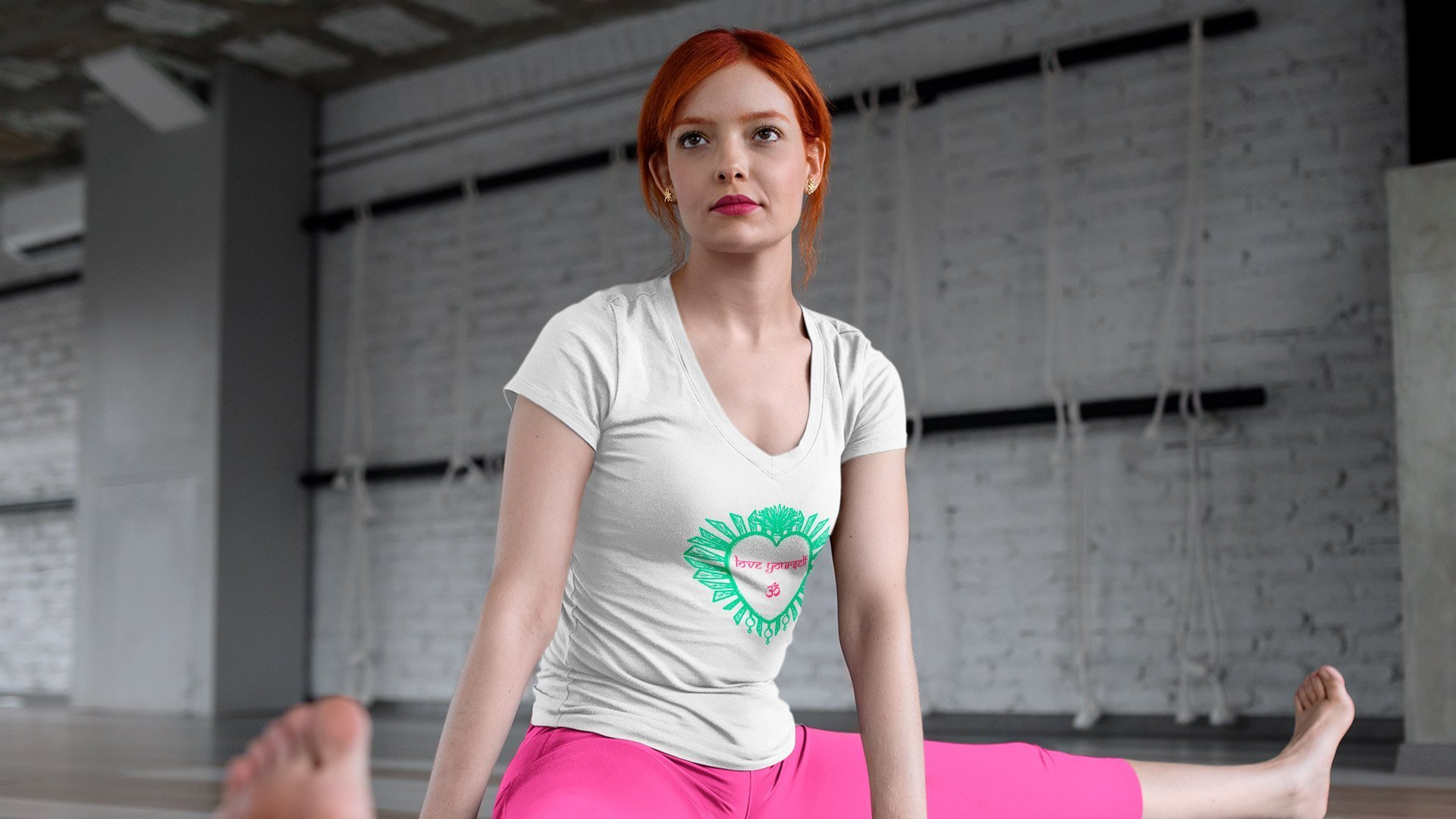 love yourself camiseta de greenyoga