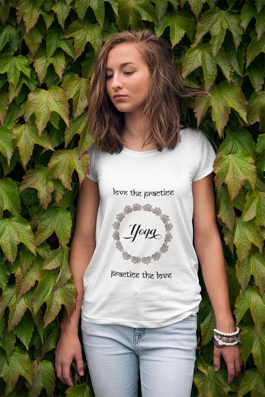 camiseta love the practice