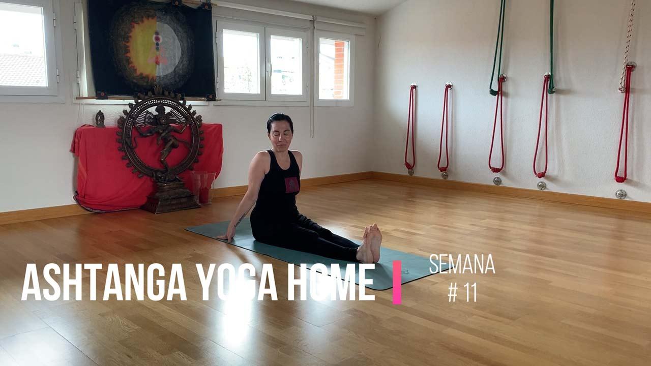 ashtanga yoga home undécima semana